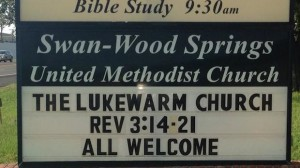 The Lukewarm Church